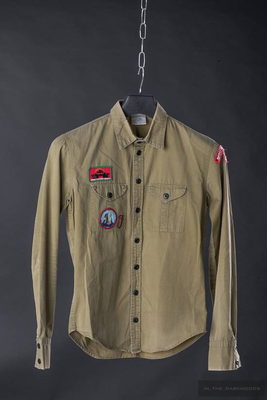 Julius = last drop = Collectors piece: 2003SS patch shirt Size US S / EU 44-46 / 1
