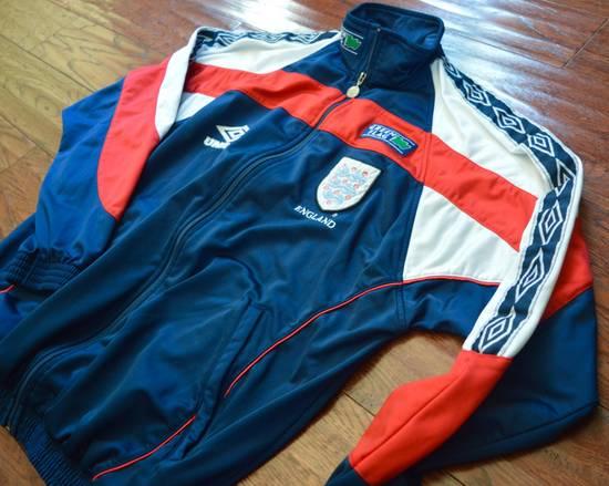Umbro Vintage 90s Umbro England Track Jacket Size US L / EU 52-54 / 3 - 1
