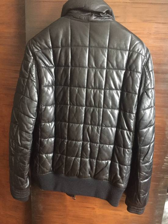 Balmain Balmain Homme Rare Leather Puffer List $6590 Size US S / EU 44-46 / 1 - 3