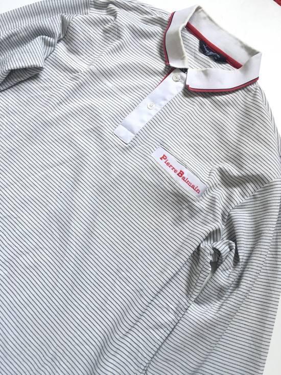 Balmain Vintage Balmain Polo Shirt Long Sleeve not gucci balenciaga saint laurent givenchy versace fendi burberry moncler undercover Size US M / EU 48-50 / 2