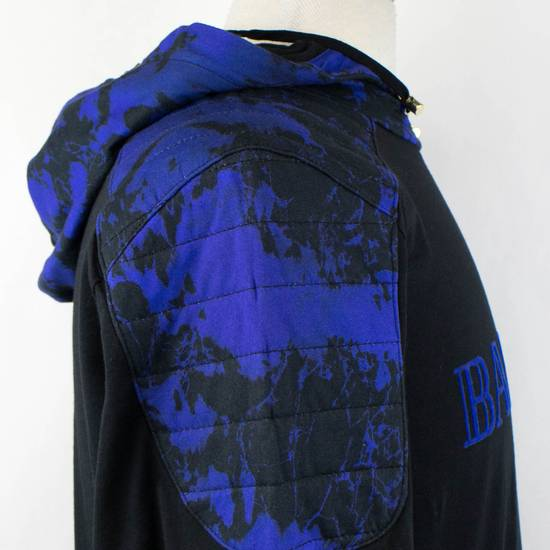 Balmain Black Cotton Shoulder Detail Hoodie Sweatshirt Shirt S Size US S / EU 44-46 / 1 - 5