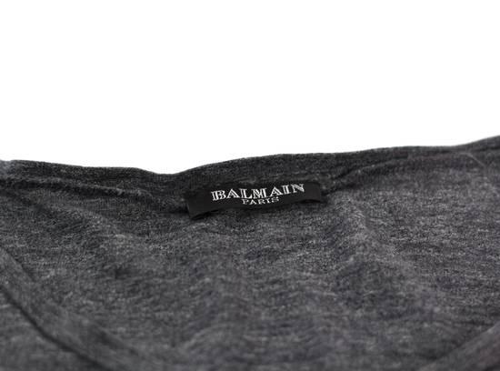 Balmain AW11 Charcoal Tee Size US L / EU 52-54 / 3 - 1