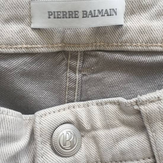 Balmain Distressed off-white biker jeans (NWT) Size US 31 - 6