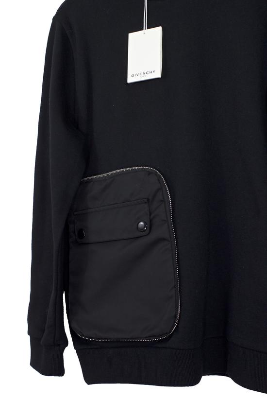 Givenchy Black Zip Pocket Sweatshirt Size US M / EU 48-50 / 2 - 1