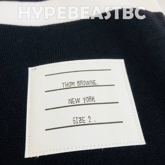 Thom Browne THOM BROWNE Classic Sweat Shorts 4-Bar Stripe Logo, TB Size 2, Navy, NWT, NO DROP ! Size US 32 / EU 48 - 7