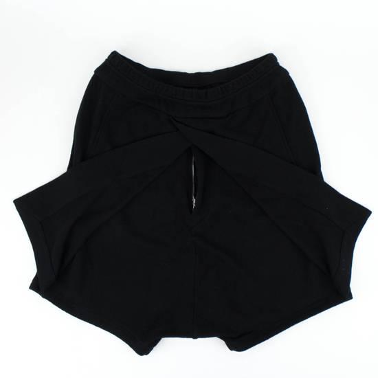 Julius 7 Black Cotton Asymmetric Layered Shorts Size S Size US 32 / EU 48 - 2
