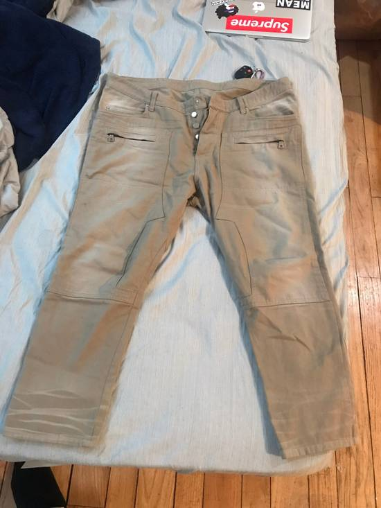 Balmain Tan Carpenter Jeans ( Priced To Sell) Size US 34 / EU 50
