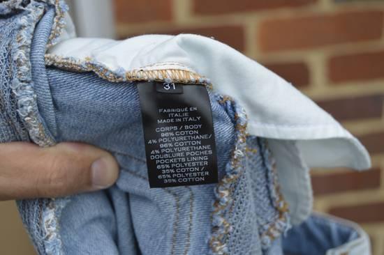 Balmain Balmain Blue Ribbed Biker Jeans Size US 31 - 9