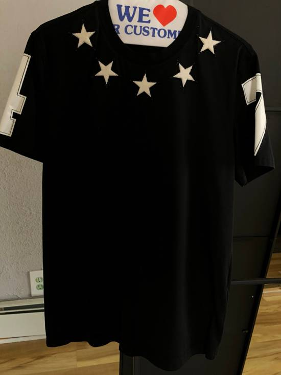 Givenchy Star & Numbers Jersey T-Shirt Size US M / EU 48-50 / 2 - 1