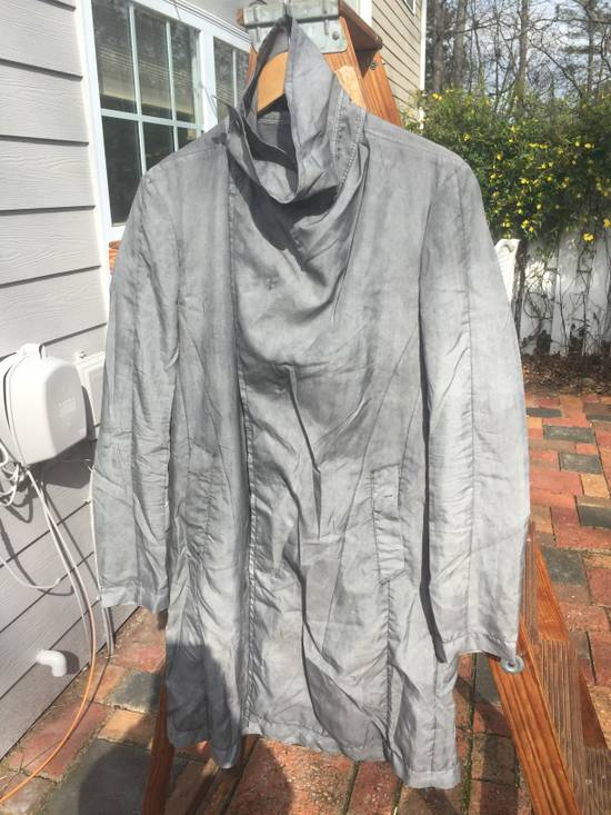 Julius SS14 Silk/Nylon Dusty Grey Coat Size US M / EU 48-50 / 2 - 6