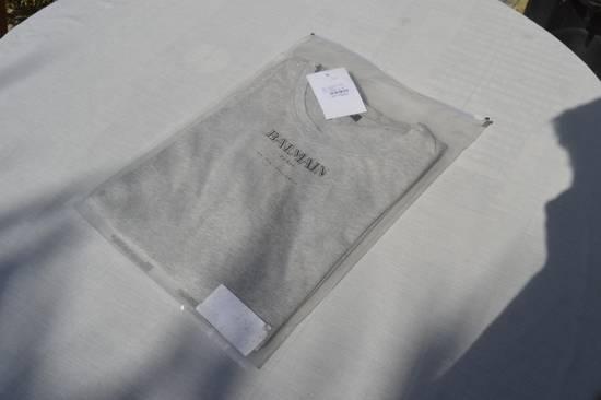 Balmain Grey Distressed T-shirt Size US M / EU 48-50 / 2 - 8