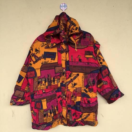Vintage Vintage!! H-L HENRI LUC CHAPIUS Sportwear Cote D'Azur Designer Outdoor Windbreaker Full Print Pop Art Henri Luc Chapius Women Size Large Size US L / EU 52-54 / 3