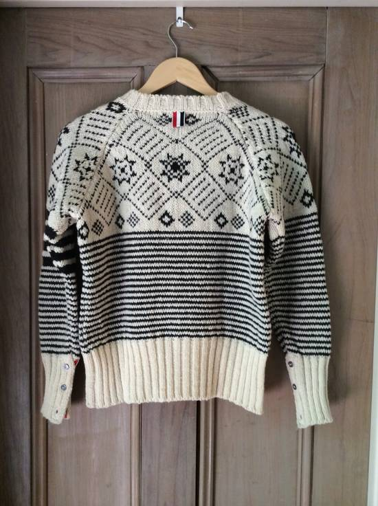 Thom Browne Ireland - 4 bar Fair Isle - Size US S / EU 44-46 / 1 - 1