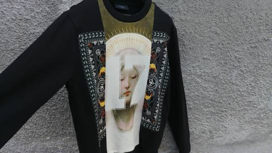 Givenchy $1280 Givenchy Madonna 17 and Rottweiler Print Shark Stars Men's Sweater size M (L) Size US M / EU 48-50 / 2 - 3