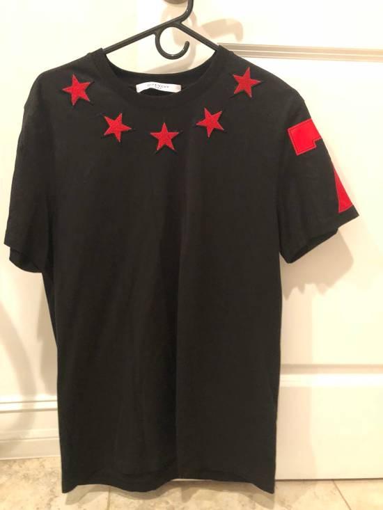 Givenchy Black Givenchy Stars Shirt Size US S / EU 44-46 / 1