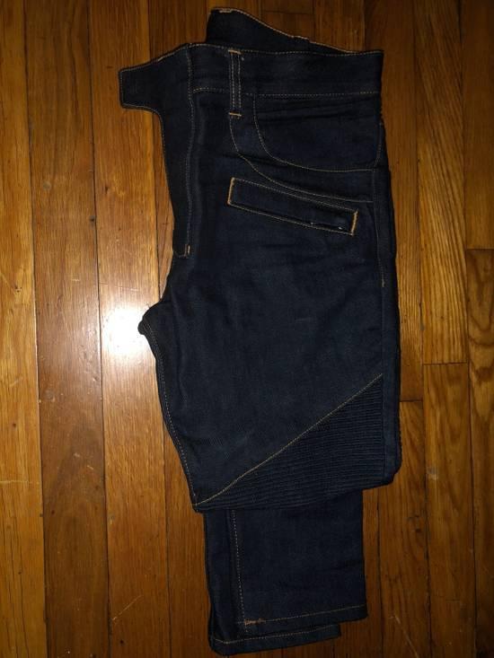 Balmain Balmain Hard Denim Blue Size US 31