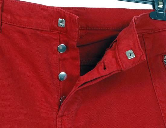 Balmain Original Balmain Distressed Red Men Biker Jeans in size 32 Size US 32 / EU 48 - 8