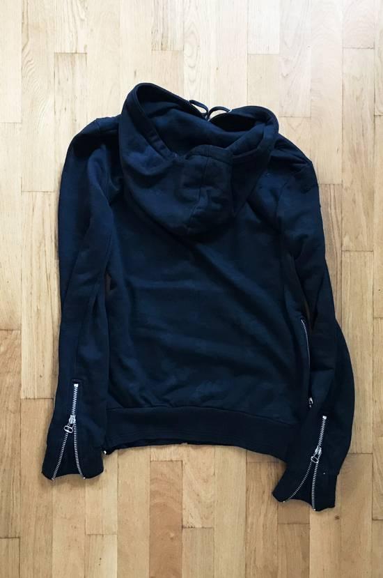 Balmain Black Camo Pattern Zip Hoodie Size US M / EU 48-50 / 2 - 1