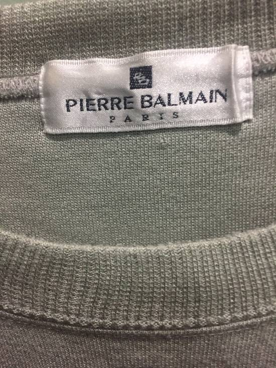 Balmain Pistachio Sweatshirt Size US M / EU 48-50 / 2 - 2