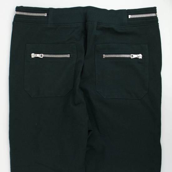 Balmain Men's Green Cotton Leggings Biker Pants Size XL Size US 38 / EU 54 - 3