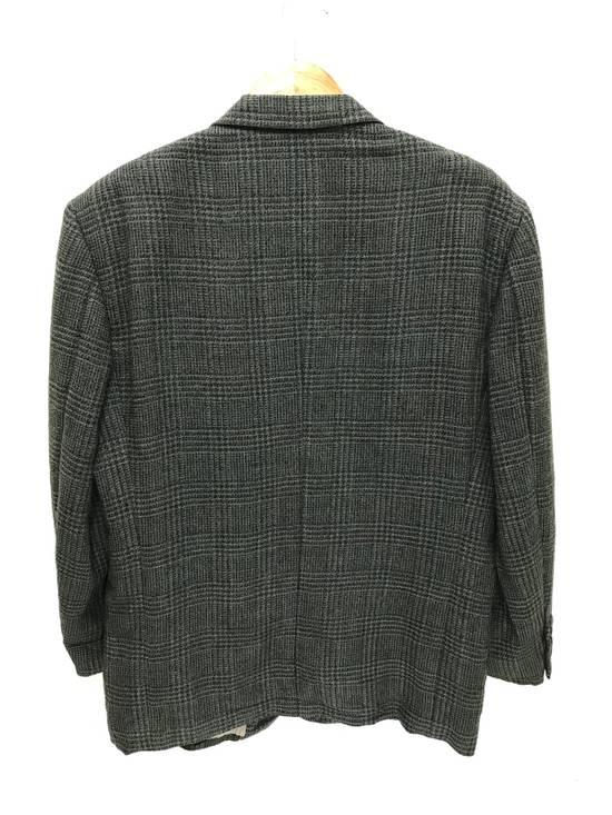 Givenchy Monsieur Givenchy Wool Blazer Tartan Plaid Vintage Size 44R - 10
