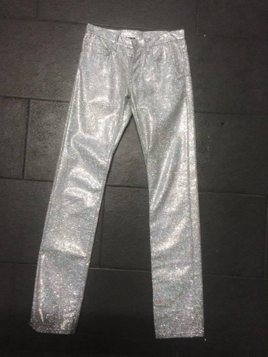 Dior SS06 runway glitter pants Size US 28 / EU 44 - 3