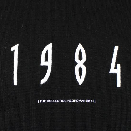 Julius 7 Men's Black Cotton '1984' Crewneck Sweater Size 3/M Size US M / EU 48-50 / 2 - 4