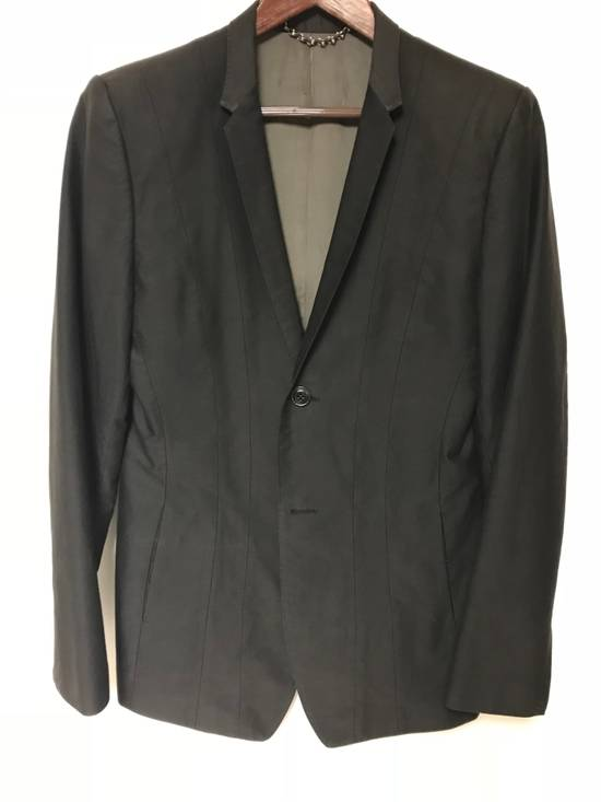 Julius 05/06 Oiled Cotton Blazer Size 38R