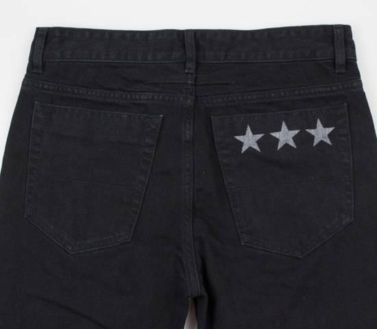 Givenchy Black Cotton Denim Jeans Pants Size US 32 / EU 48 - 7