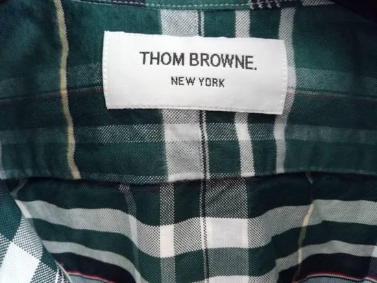 Thom Browne thom browne classic oxford green madras Size US L / EU 52-54 / 3 - 2