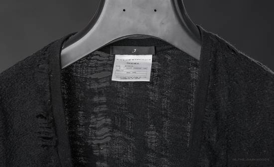 Julius 2005 AW frayed wool knit top Size US S / EU 44-46 / 1 - 5