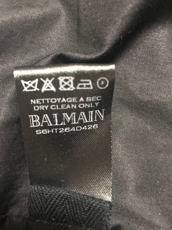Balmain waxed biker jacket Size US M / EU 48-50 / 2 - 7
