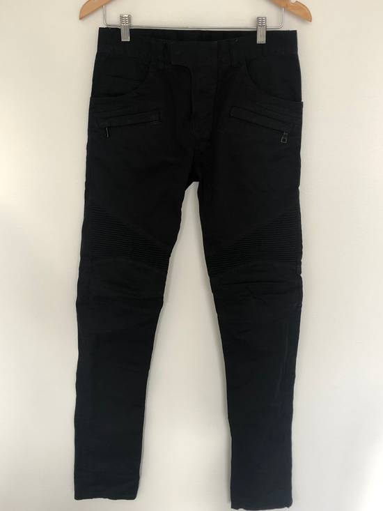 Balmain Balmain Twill Cotton Biker Denim Size US 29 - 4