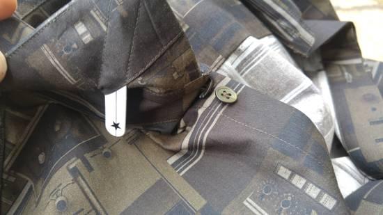 Givenchy Givenchy Dark Circuit 17 Deck Tape Rottweiler Shark Oversized Shirt size 40 (L) Size US L / EU 52-54 / 3 - 9