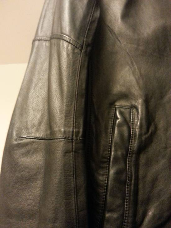 Balmain Safety Pin Leather Biker Jacke Size US M / EU 48-50 / 2 - 8