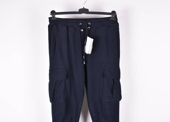 Balmain Paris Men Biker Style Cargo Sweatpants Trousers Size US 32 / EU 48 - 1