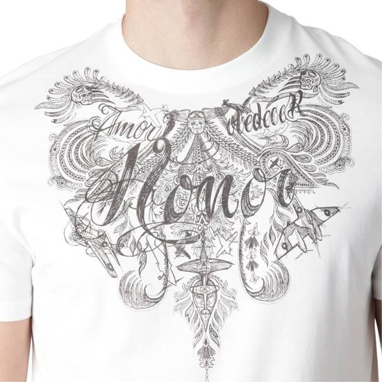 Givenchy $340 Givenchy Tattoo Honor Jersey Rottweiler Madonna Slim Fit T-Shirt size L (M) Size US L / EU 52-54 / 3 - 3