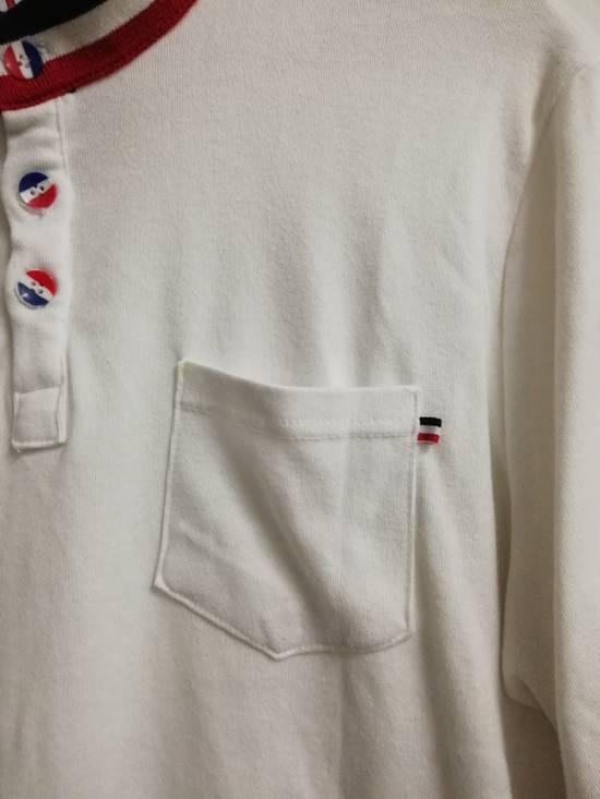 Thom Browne Moncler Gammebleu x Thom Browne Single Pocket Button Up Shirt Size US XXL / EU 58 / 5 - 4