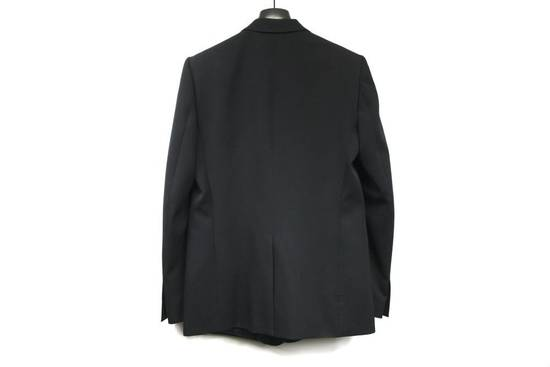 Balmain $2500 Balmain Slim Black One Button Wool Blazer Jacket Blouson Sz 50 48 M Medium Size 40R - 10