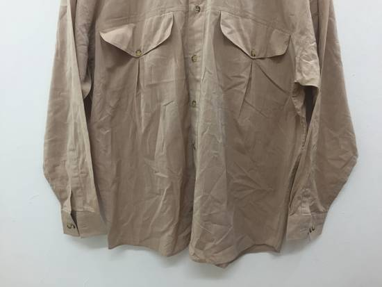 Givenchy 80's GIVENCHY button up double pocket 52% seta 42% cotton luxury made in italy Size US M / EU 48-50 / 2 - 3