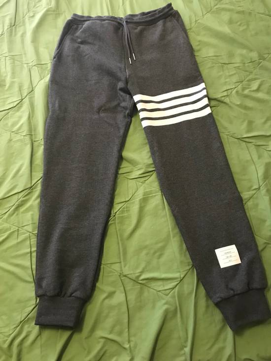Thom Browne Sweatpant with engineerd 4-bar stripe Size US 33