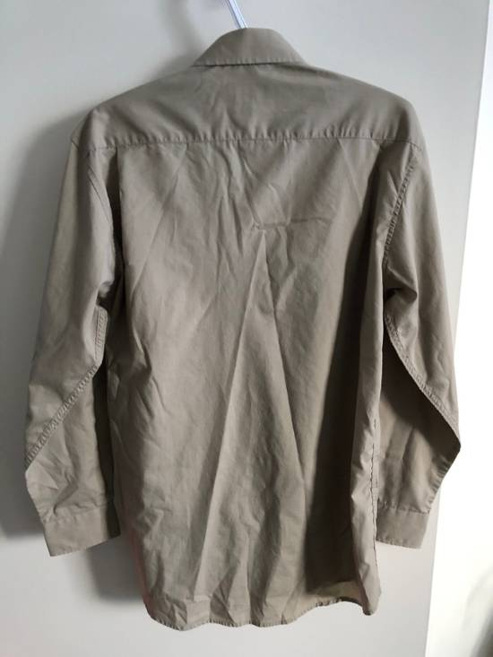 Balmain khaki button up Size US M / EU 48-50 / 2 - 2