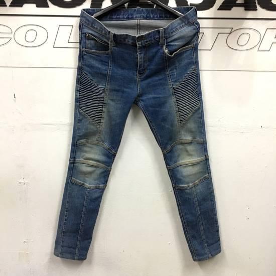 Balmain Balmain Biker Skinny Denim Pants Size US 34 / EU 50