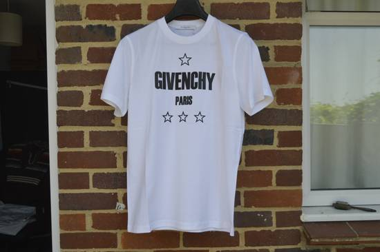 Givenchy Japan Exclusive Logo and Stars T-shirt Size US XS / EU 42 / 0