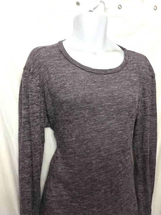 Balmain Balmain Paris Lavender Crewneck Linen Long Sleeve Shirt Size US L / EU 52-54 / 3 - 2