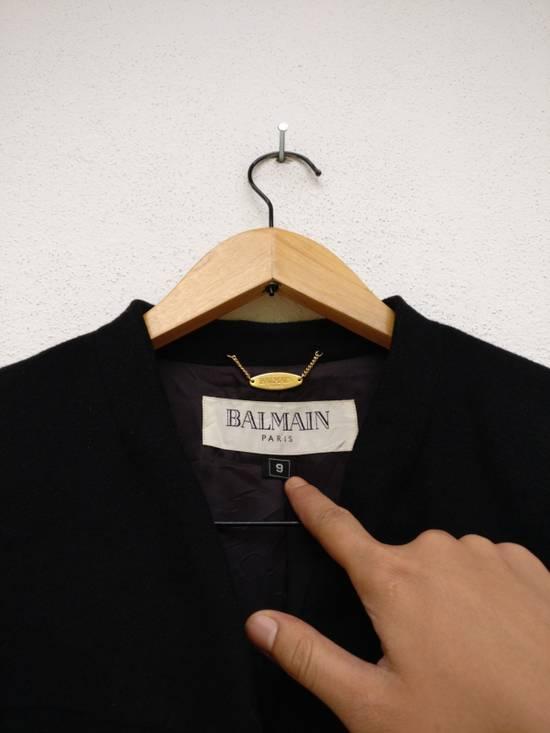 Balmain BALMAIN WOOL BLAZER Size 38R - 8