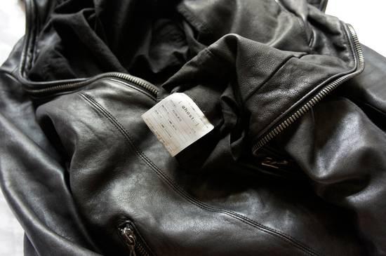 Julius JULIUS _7 ma high neck black lamb biker jacket slim fit Japan Size US S / EU 44-46 / 1 - 24
