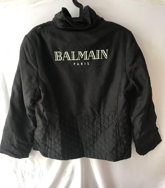 Balmain Vintage down jacket Balmain Big logo printing authentic Size US M / EU 48-50 / 2