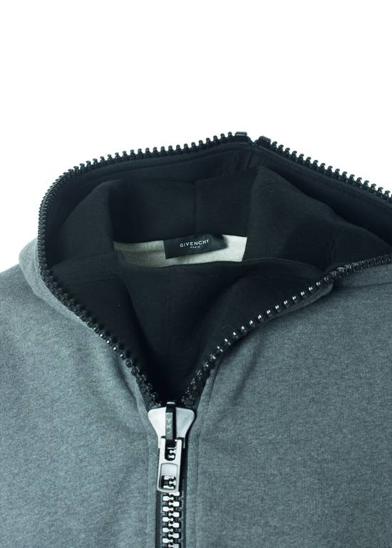 Givenchy Givenchy Men's 100% Cotton Gray Zipper Sweater Size US XL / EU 56 / 4 - 2
