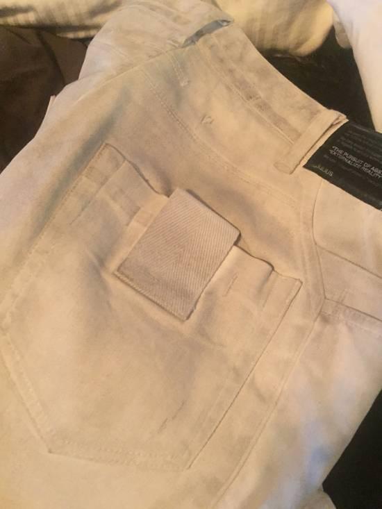 Julius Off white Moto Jean Size US 30 / EU 46 - 5